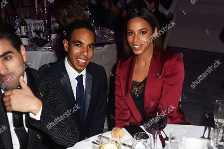 Scott Roberts and Rochelle Humes