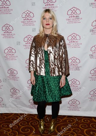 Singer-songwriter Basia Bulat arrives at the 26th Annual Tibet House Benefit Gala after party at Gotham Hall, in New York