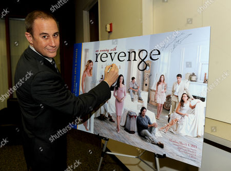 """MARCH 4: Mike Kelley attends the Academy of Television Arts & Sciences Presents An Evening With """"Revenge"""" panel at the Leonard H. Goldenson Theater at the Academy of Television Arts & Sciences on in North Hollywood, California"""