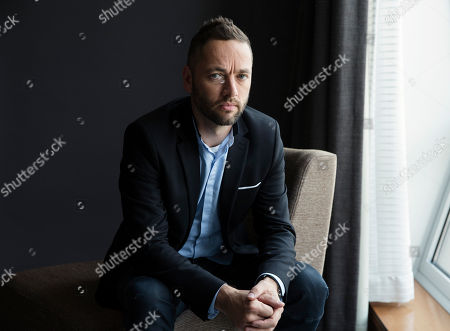 "Director Sean Ellis poses for a portrait to promote his film, ""Anthropoid"" in New York"