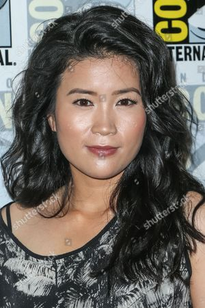"""Jadyn Wong attends the CBS """"Scorpion"""" press line on day 1 of Comic-Con International, in San Diego"""