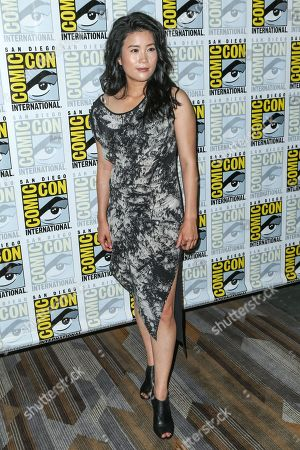 """Stock Image of Jadyn Wong attends the CBS """"Scorpion"""" press line on day 1 of Comic-Con International, in San Diego"""
