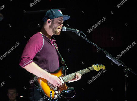 Daniel Kongos with Kongos performs during the Lunatic Tour 2015 at Center Stage Theater, in Atlanta