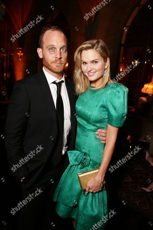 Exclusive - Ethan Embry and Sunny Mabrey seen at Netflix Emmy Party, in Los Angeles, CA
