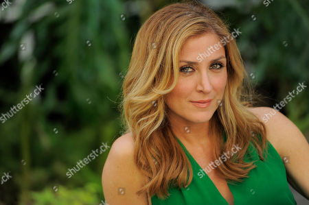 "Stock Picture of Actress Sasha Alexander poses for a portrait in Los Angeles. Season five of Alexander's crime drama ""Rizzoli and Isles"" premiered Tuesday, June 17, 2014, on TNT. The episode was the first to address the death of actor Lee Thompson Young"