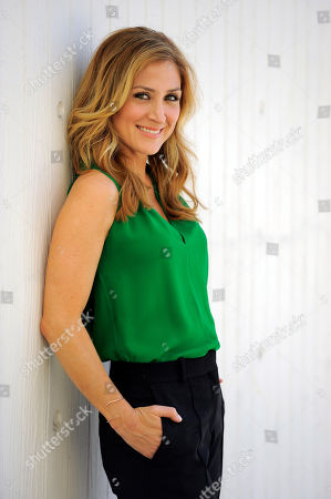 "Actress Sasha Alexander poses for a portrait in Los Angeles. Season five of Alexander's crime drama ""Rizzoli and Isles"" premiered Tuesday, June 17, 2014, on TNT. The episode was the first to address the death of actor Lee Thompson Young"