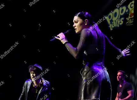 Sorry to Interrupt collaborators Jessie J and Jake Roche of Rixton, along with Jhene Aiko, rock out at the Pop-Tarts #CrazyGoodSummer concert at the Nob Hill Masonic in San Francisco on
