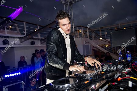 Shaun Frank performs on board the Norwegian Sun during day 4 of The Groove Cruise Cabo, in Cabo