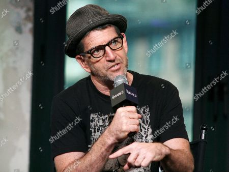 """Stock Photo of Director Jeff Feuerzeig participates in AOL's BUILD Speaker Series to discuss the film """"The JT Leroy Storyâ?? at AOL Studios, in New York"""