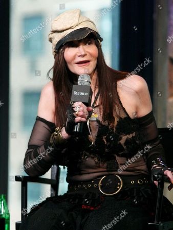 """Author Laura Albert participates in AOL's BUILD Speaker Series to discuss the film """"The JT Leroy Storyâ?? at AOL Studios, in New York"""