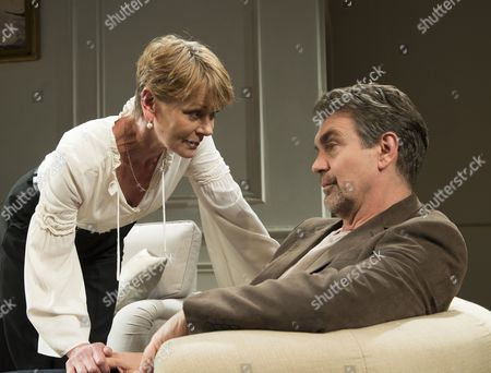 Samantha Bond as Alice, Alexander Hanson as Paul