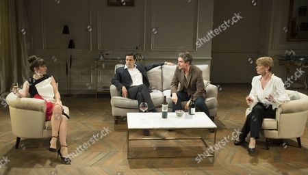 Alexandra Gilbreath as Laurence, Tony Gardner as Michel, as Alexander Hanson as Paul, Samantha Bond as Alice,