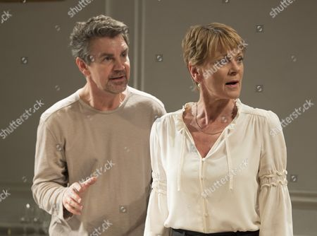 Alexander Hanson as Paul, Samantha Bond as Alice,