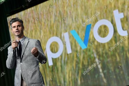 Pivot President Evan Shapiro speaks at the Pivot panel during the Summer TCAs, in Beverly Hills, Calif