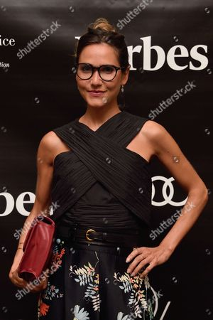 Editorial photo of 'Forbes Magazine' launch, Paris, France - 05 Oct 2017