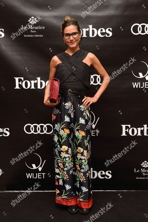 Editorial picture of 'Forbes Magazine' launch, Paris, France - 05 Oct 2017