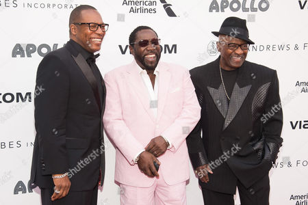 Editorial picture of People O'Jays, New York, USA