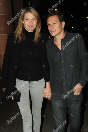 Editorial picture of Dave Clarke and Lynn Anderson out and about, London, UK