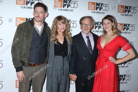 Sawyer Avery Spielberg, Kate Capshaw, Steven Spielberg and Destry Allyn Spielberg