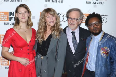 Stock Photo of Destry Allyn Spielberg, Kate Capshaw, Steven Spielberg and Theo Spielberg