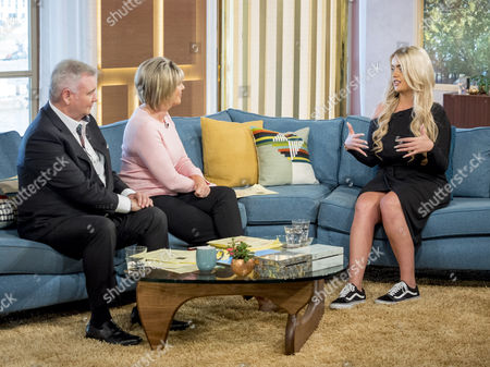 Eamonn Holmes and Ruth Langsford with Jane Park