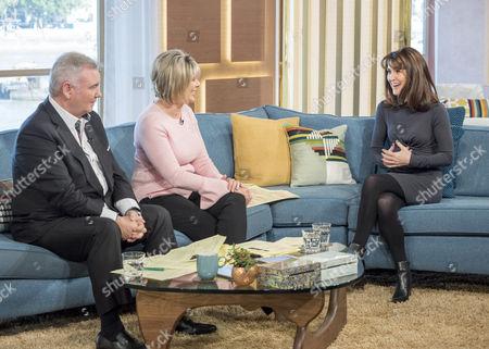 Eamonn Holmes and Ruth Langsford with Gillian Kearney