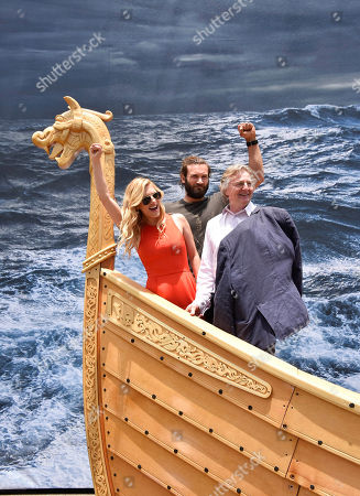 Editorial picture of HISTORY On The Set with Vikings, San Diego, USA