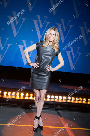 Veronic DiCaire poses for a portrait at the Jubilee Theatre on in Las Vegas