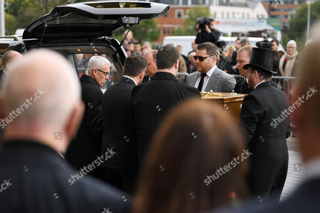Editorial image of The funeral of Liz Dawn, Salford Cathedral, Manchester, UK - 06 Oct 2017