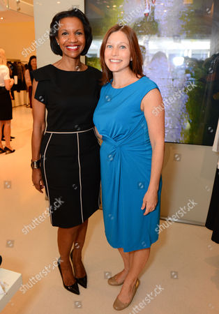 Stock Image of Salaam Coleman Smith, left, and Suzanne Elliott attend the Power of Style Lunch hosted by The Hollywood Reporter and MaxMara, in Beverly Hills, Calif