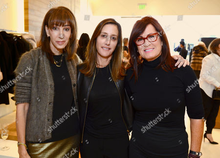 Merle Ginsberg, and from left, Leslie Siebert and Molly Madden attend the Power of Style Lunch hosted by The Hollywood Reporter and MaxMara, in Beverly Hills, Calif