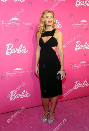 Model Daniela Pestova attends the Barbie and Sports Illustrated Swimsuit 50th anniversary celebration of the Sports Illustrated Swimsuit legends, in New York