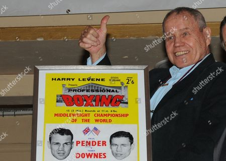 Boxer Terry Downes pictured on 18th September 2010