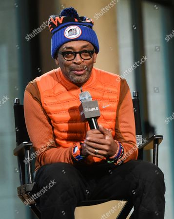 """Filmmaker Spike Lee participates in AOL's BUILD Speaker Series to discuss his new film """"Da Sweet Blood of Jesus""""? at AOL Studios, in New York"""