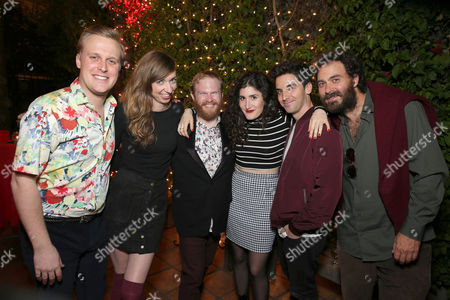 John Early, Lauren Lapkus, Henry Zebrowski, Kate Berlant, Paul Downs and Phil Burgers seen at Netflix Presents: The Characters, in Los Angeles, CA