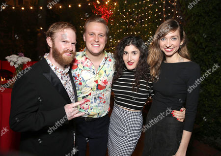 Stock Image of Henry Zebrowski, John Early, Kate Berlant and Lauren Lapkus seen at Netflix Presents: The Characters, in Los Angeles, CA