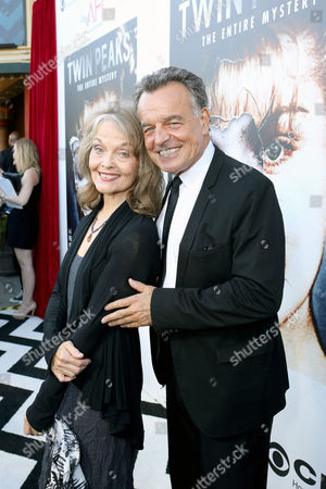 Twin Peaks stars Grace Zabriskie and Ray Wise join in celebration of the forthcoming Blu-ray Disc release of Twin Peaks: The Entire Mystery, in Los Angeles