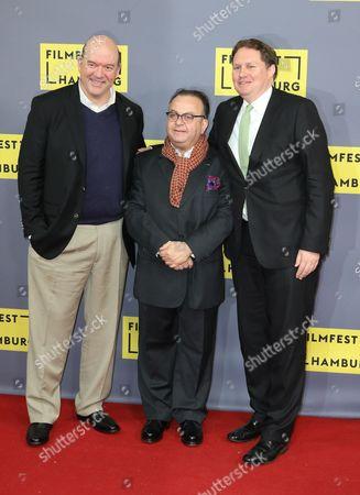 John Carroll Lynch, Albert Wiederspiel and Carsten Brosda
