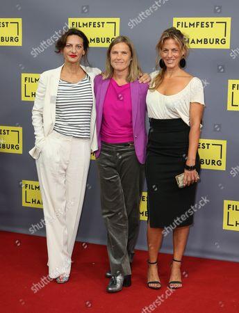 Stock Photo of Catrin Striebeck, Karoline Eichhorn and Janna Striebeck