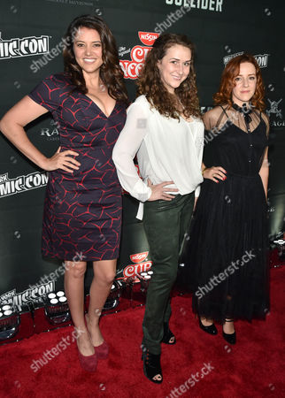 Stock Photo of Anndi McAfee, Francesca Smith, Olivia Hack