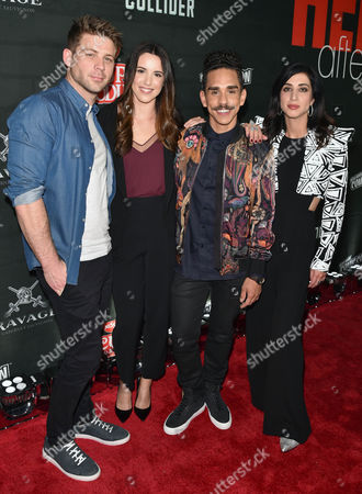 Editorial picture of New York Comic Con's 'Heroes After Dark' party, Arrivals, New York, USA - 06 Oct 2017
