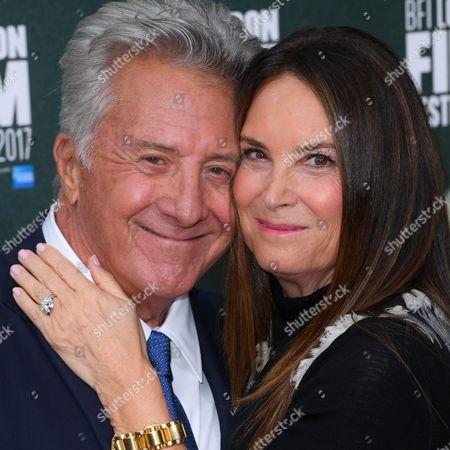 Dustin Hoffman and Lisa Gottsegen