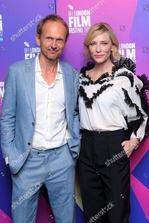 Stock Image of Julian Rosefeldt and Cate Blanchett