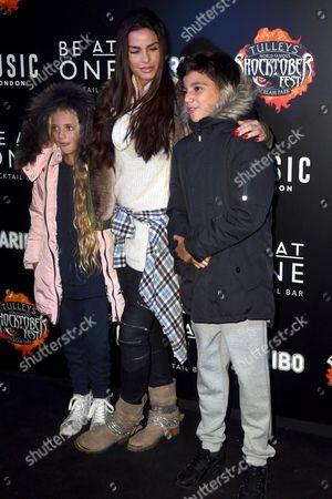 Katie Price, Junior Andre and Princess Tiaamii