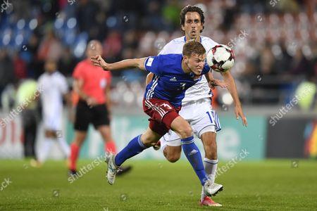 Editorial image of Liechtenstein vs Israel, Vaduz - 06 Oct 2017