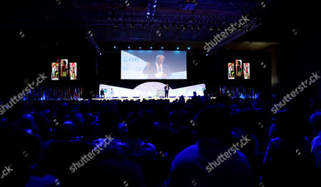 Editorial photo of One Young World (OYW) summit in Bogota, Bogot? Colombia - 06 Oct 2017