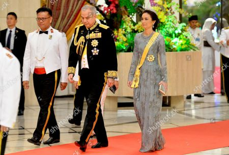 Editorial image of Prince Edward and Sophie Countess of Wessex State visit to Brunei - 06 Oct 2017