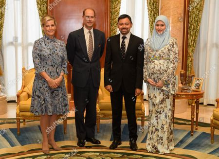 Editorial photo of Prince Edward and Sophie Countess of Wessex State visit to Brunei - 07 Oct 2017