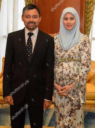 Editorial image of Prince Edward and Sophie Countess of Wessex State visit to Brunei - 07 Oct 2017