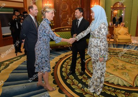 Editorial picture of Prince Edward and Sophie Countess of Wessex State visit to Brunei - 07 Oct 2017